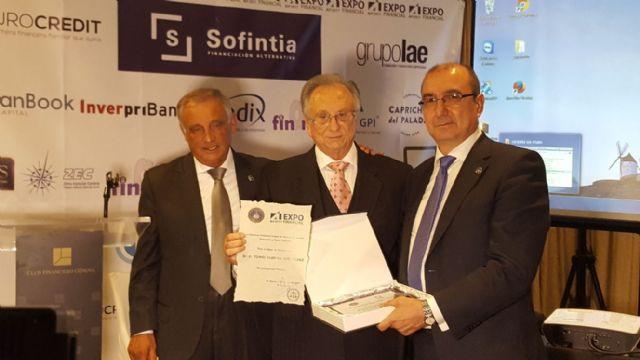 Grupo Fuertes, galardonado con el premio Expofinancial por su proyecto empresarial, Foto 1