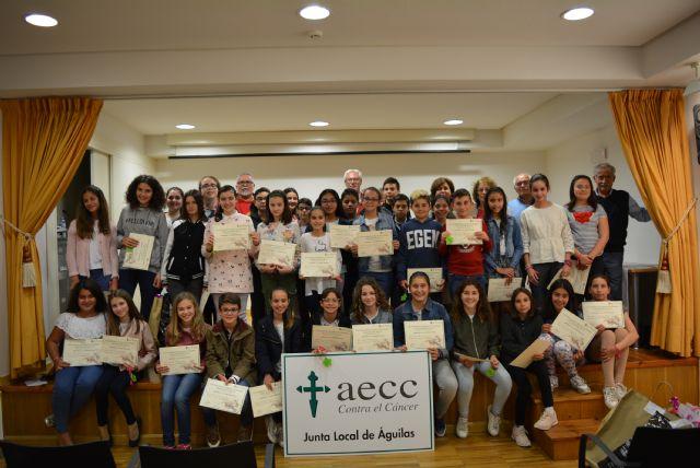Cincuenta escolares participan en el 8º Certamen de Creación Literaria organizado por AECC - 2, Foto 2