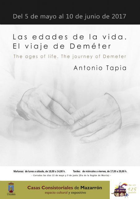 Antonio Tapia expondrá en Casas Consistoriales hasta el 10 de junio - 1, Foto 1