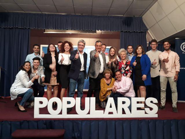 Presentación de la candidatura del PP de Pliego - 1, Foto 1