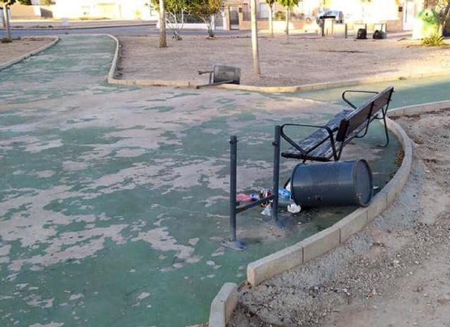El Ayuntamiento de Las Torres de Cotillas hace una llamada al civismo ante el vandalismo - 1, Foto 1