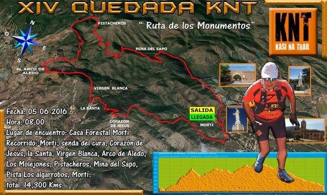 El próximo domingo 5 de Junio tendrá lugar la XIV Quedada KNT, por las faldas de Sierra Espuña, Foto 1