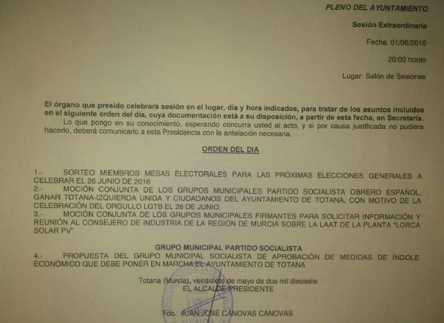 PP: El alcalde evita que el equipo del pacto vuelva a dar otro bochornoso espectáculo retirando del pleno el tercer Plan de Ajuste del PSOE, Foto 1