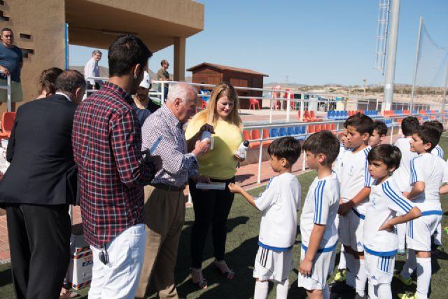 70 alumnos se forman en la escuela deportiva de la Fundación Real Madrid en Mazarrón - 1, Foto 1