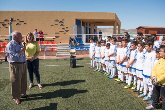 70 alumnos se forman en la escuela deportiva de la Fundación Real Madrid en Mazarrón - 2, Foto 2