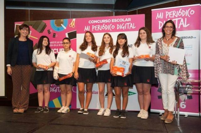 Alumnas del colegio siglo XXI son premiadas en el concurso Mi periódico digital - 1, Foto 1