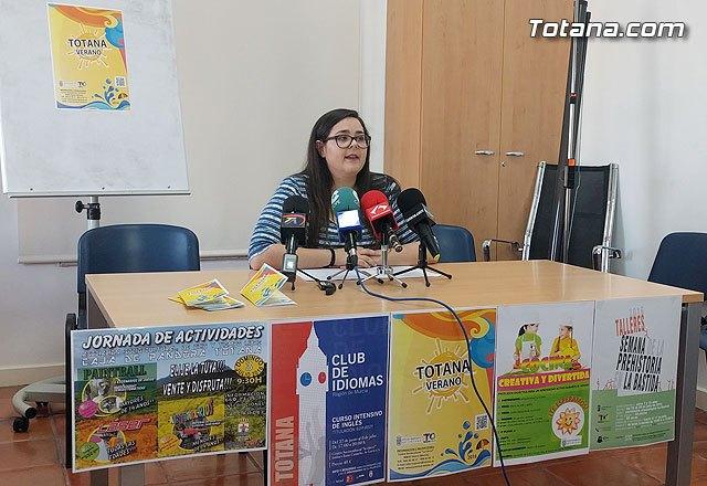 Un total de nueve actividades completan el programa de ocio y tiempo libre Totana Verano´2016, Foto 1