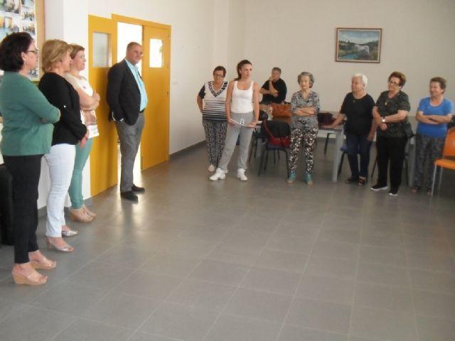 Se clausura el programa de Gimnasia para Mayores en El Paretón, con la entrega de diplomas, Foto 4
