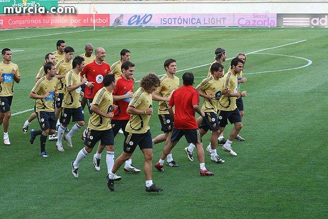 España entrenará el martes 6 de junio a las 20:00 horas a puerta abierta, Foto 1