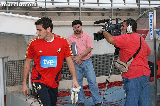 España entrenará el martes 6 de junio a las 20:00 horas a puerta abierta, Foto 2