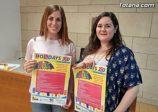 El programa de conciliación de la vida laboral y familiar Holidays 3.0, edición verano, se oferta con 100 plazas en cada uno de los tres turnos, Foto 1