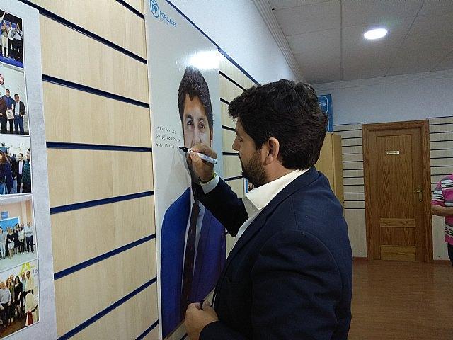 López Miras inaugura la nueva sede del Partido Popular en Fortuna - 1, Foto 1
