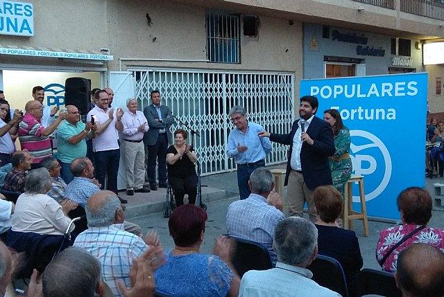 López Miras inaugura la nueva sede del Partido Popular en Fortuna - 2, Foto 2