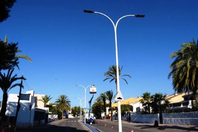 El ayuntamiento continúa con la transformación del alumbrado público con la instalación de luces led - 2, Foto 2
