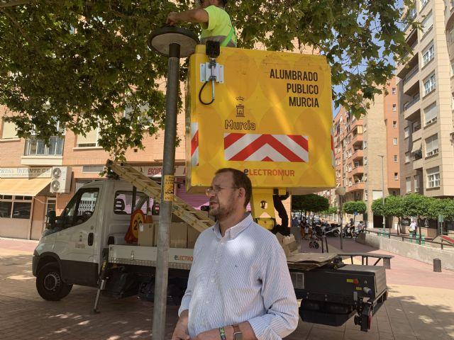 Las nuevas luminarias smart instaladas en El Infante proporcionan información individual para facilitar su mantenimiento - 1, Foto 1