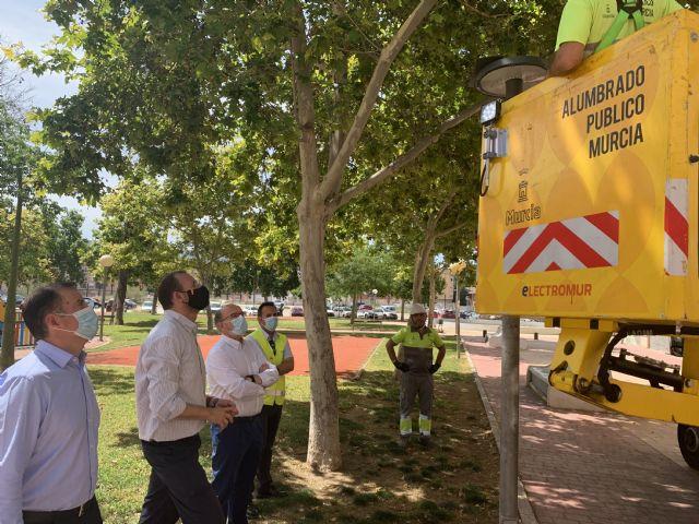 Las nuevas luminarias smart instaladas en El Infante proporcionan información individual para facilitar su mantenimiento - 2, Foto 2