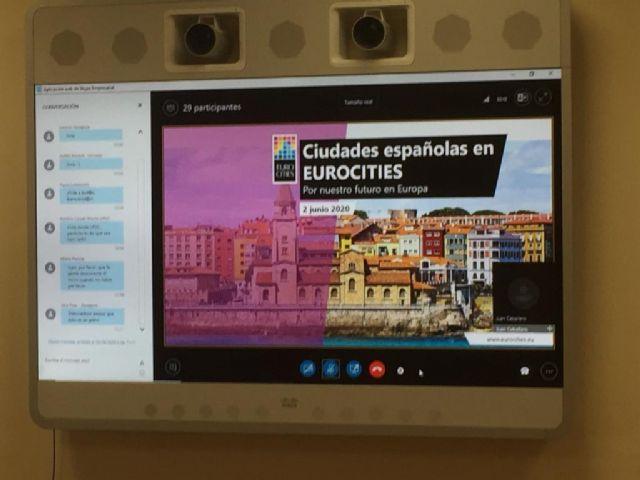 El Ayuntamiento analiza en Eurocities la importancia de la financiación europea para la gestión municipal en el marco de la Agenda Urbana Murcia 2030 - 3, Foto 3