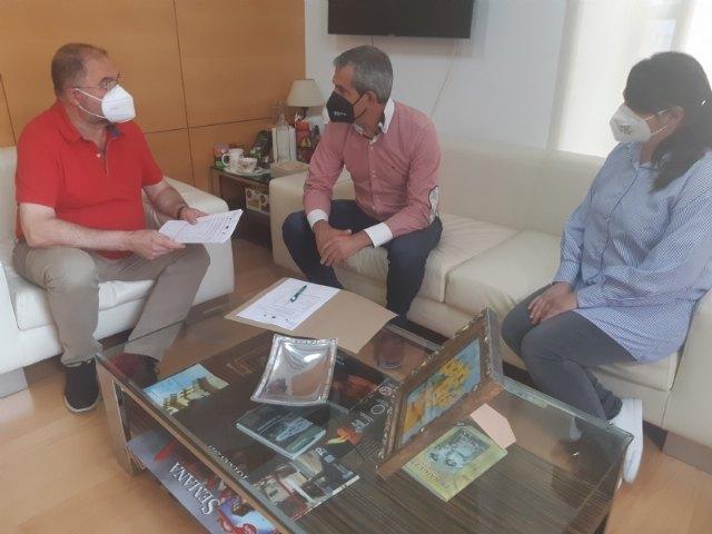 """Recepcionan la concesión de ayudas de dos proyectos en el marco del Grupo de Acción Local """"Territorio Campoder"""""""