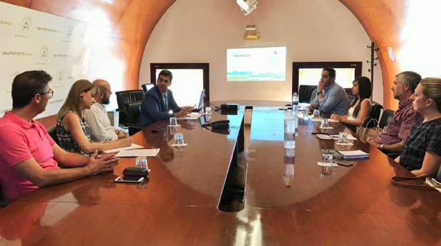 El director de Transportes reúne a la primera mesa territorial del transporte para recabar propuestas de los municipios del Valle del Guadalentín, Foto 1