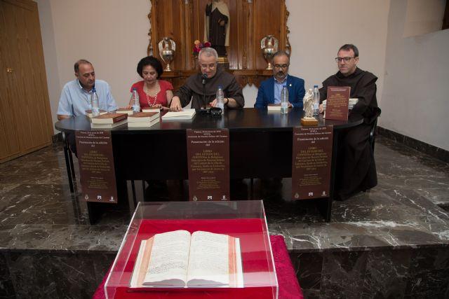 Editan la transcripción del Libro de Estado del Convento de los Carmelitas de Caravaca como fuente para el estudio de la historia local - 1, Foto 1