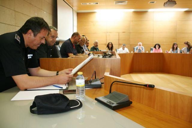 Se celebra una reunión de la Mesa de Coordinación Policial para la Protección de las Víctimas de Violencia Doméstica y de Género en Totana