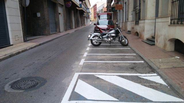 They enable more parking spaces for motorcycles and mopeds in Calle del Pilar, eliminating existing ones in the Plaza de la Constitución, Foto 4