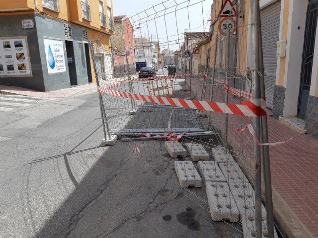 Comienzan las obras de renovación de la red de agua potable y alcantarillado en un tramo de la calle Teniente Pérez Redondo - 2, Foto 2
