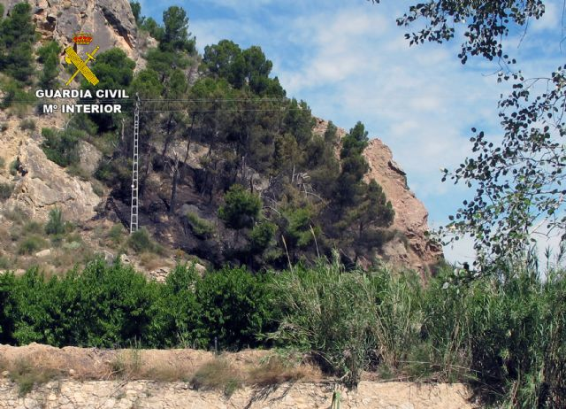 La Guardia Civil investiga a tres menores por dos incendios en el paraje El Menjú de Cieza - 2, Foto 2