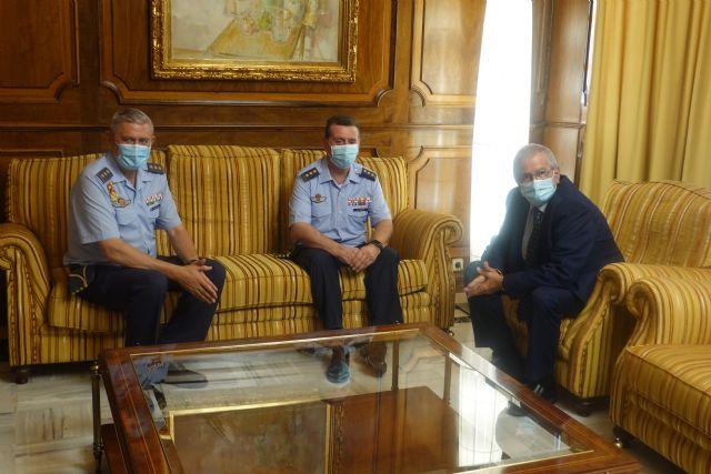 José Alberto Llopis considera que su nombramiento como coronel jefe de la Base Aérea de Alcantarilla es un enorme reto por la influencia y el peso de la institución - 2, Foto 2