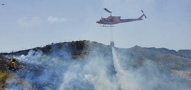Incendio forestal en Fuente Álamo - 2, Foto 2