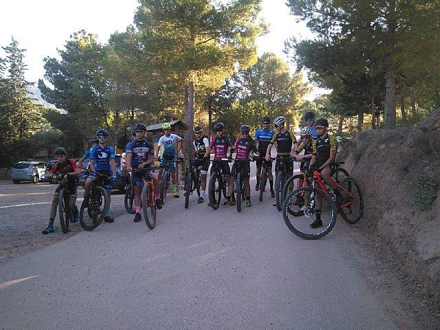 Entrenamiento cadetes BTT - Federación de Ciclismo de la Región de Murcia - 2, Foto 2