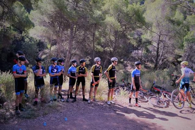 Entrenamiento cadetes BTT - Federación de Ciclismo de la Región de Murcia - 3, Foto 3