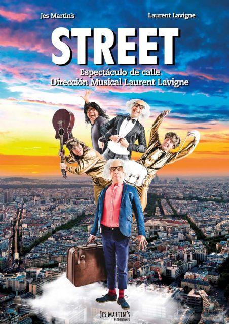 Jes Martin´s estrenará Street en el festival de teatro de calle de San Pedro del Pinatar - 1, Foto 1