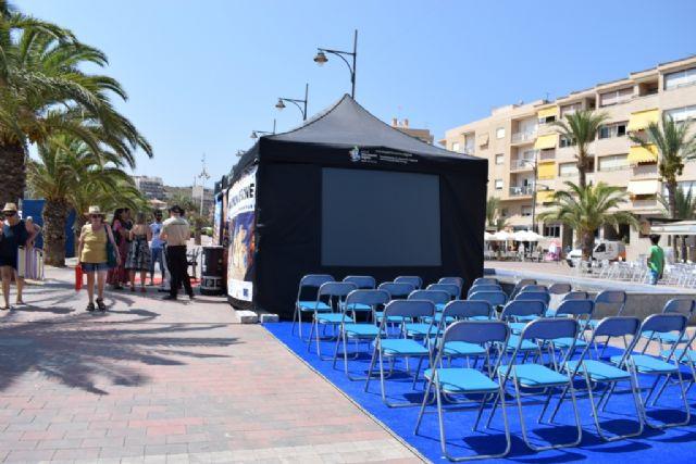 ´Un patrimonio de cine´ regresa al Puerto de Mazarrón con cine de verano sobre arqueología, historia y la ciudad encantada, Foto 1