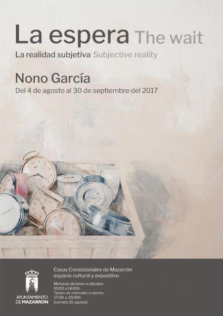 Nono García expondrá en Casas Consistoriales hasta el 30 de septiembre, Foto 1