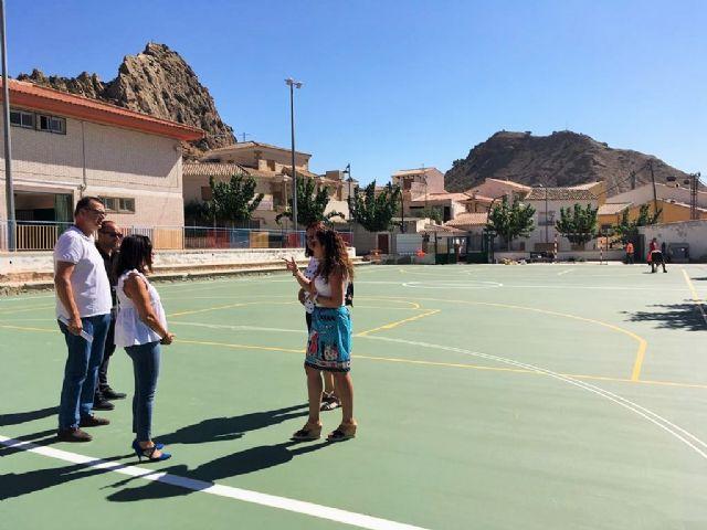 Las obras de mejora en el colegio Jesús García Candel de Ricote beneficiarán a más de 50 alumnos - 1, Foto 1