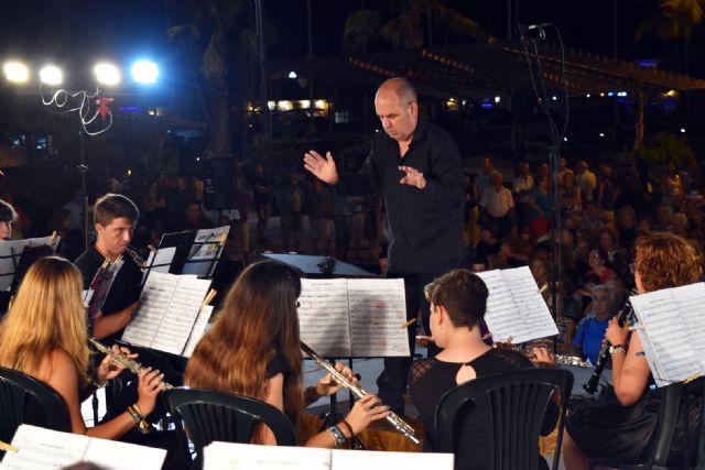 La Banda de Música de Mazarrón clausuró los Veranos Musicales 2018 - 1, Foto 1