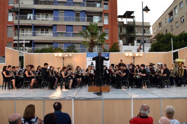 La Banda de Música de Mazarrón clausuró los Veranos Musicales 2018 - 5, Foto 5