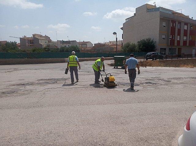 Brigada municipal: trabajos del 2 de agosto