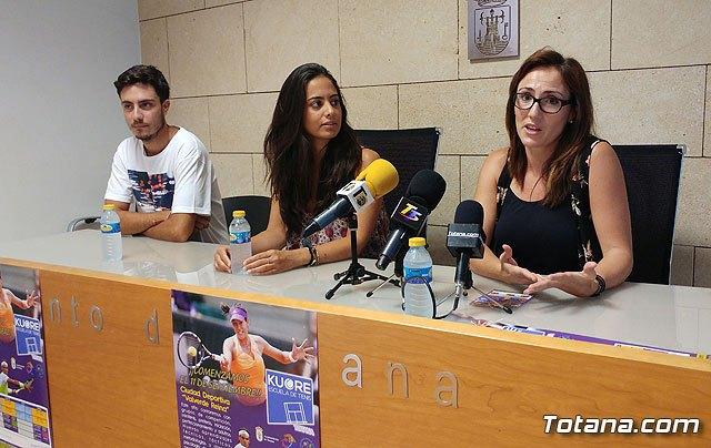 Se presenta la programación de actividades del inicio de temporada de la Escuela de Tenis Kuore, Foto 3