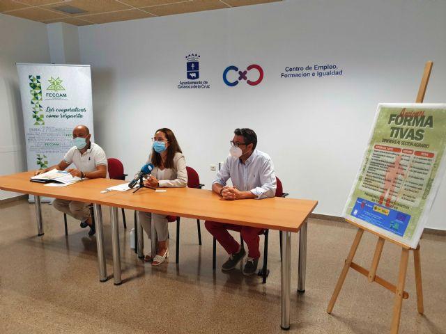 El Ayuntamiento de Caravaca y FECOAM oferta un programa formado por diez cursos para profesionales en activo y desempleados del sector agrario - 3, Foto 3