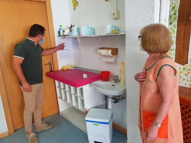La Guardería Municipal de Caravaca inicia el curso con una rigurosa batería de medidas de prevención del COVID-19, para contribuir a la conciliación de la vida laboral y familiar - 5, Foto 5