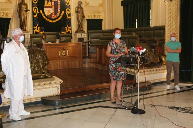 La alcaldesa de Jumilla y el responsable médico del Covid19 informan de nuevas medidas y recomendaciones frente a la pandemia - 1, Foto 1