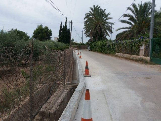 En marcha las obras de mejora en el camino del Ramblar y el Olmillo, Foto 1