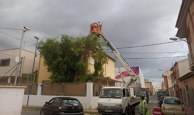 [Brigada municipal: trabajos del 2 de septiembre de 2021