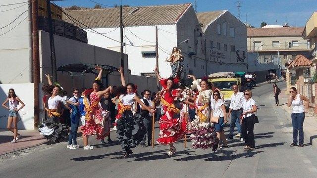 La romería de la Virgen del Rosario pone fin definitivo a las Fiestas Patronales de La Algaida - 1, Foto 1