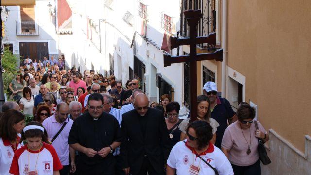 Los profesores de Religión de la Diócesis de Cartagena peregrinan a la Vera Cruz de Caravaca, Foto 2