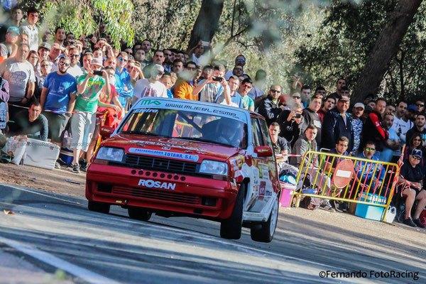 Buen ritmo de carrera para los pilotos del Equipo CAÑAVATE en la Subida a la Santa, Foto 1