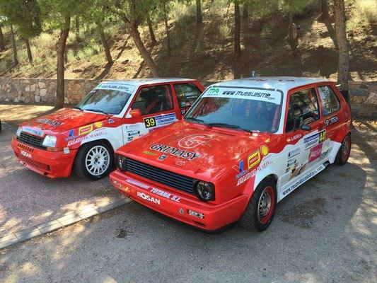 Buen ritmo de carrera para los pilotos del Equipo CAÑAVATE en la Subida a la Santa, Foto 3