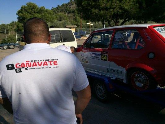 Buen ritmo de carrera para los pilotos del Equipo CAÑAVATE en la Subida a la Santa, Foto 4